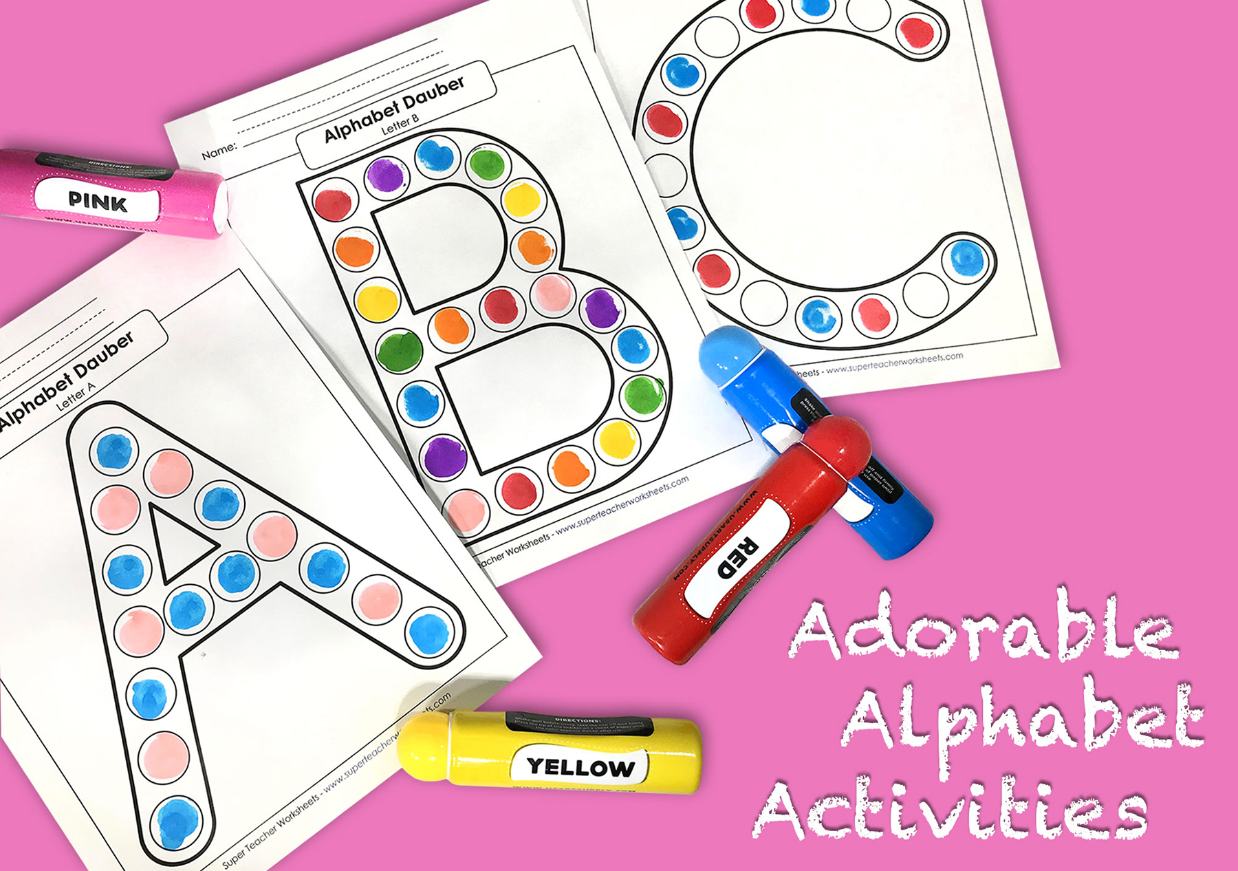 Awesome Alphabet Activities