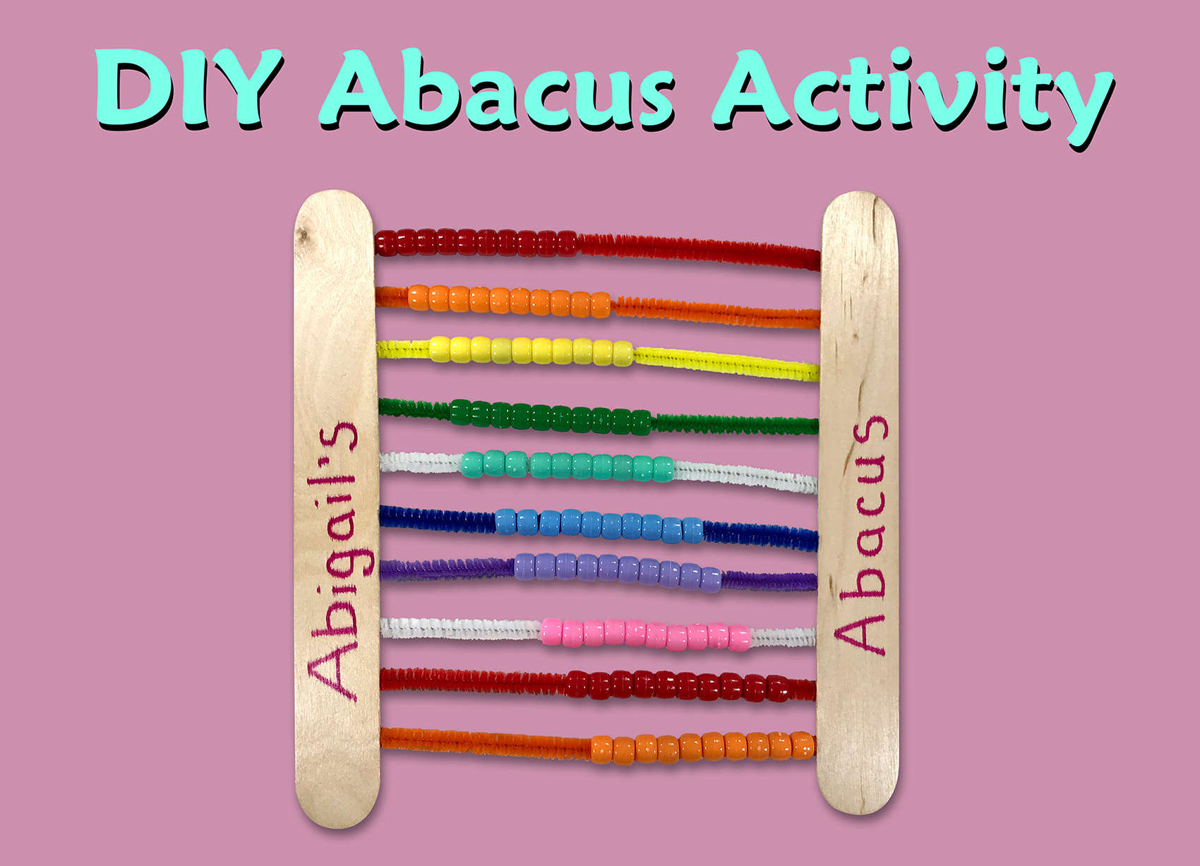 Abacus Math Activity