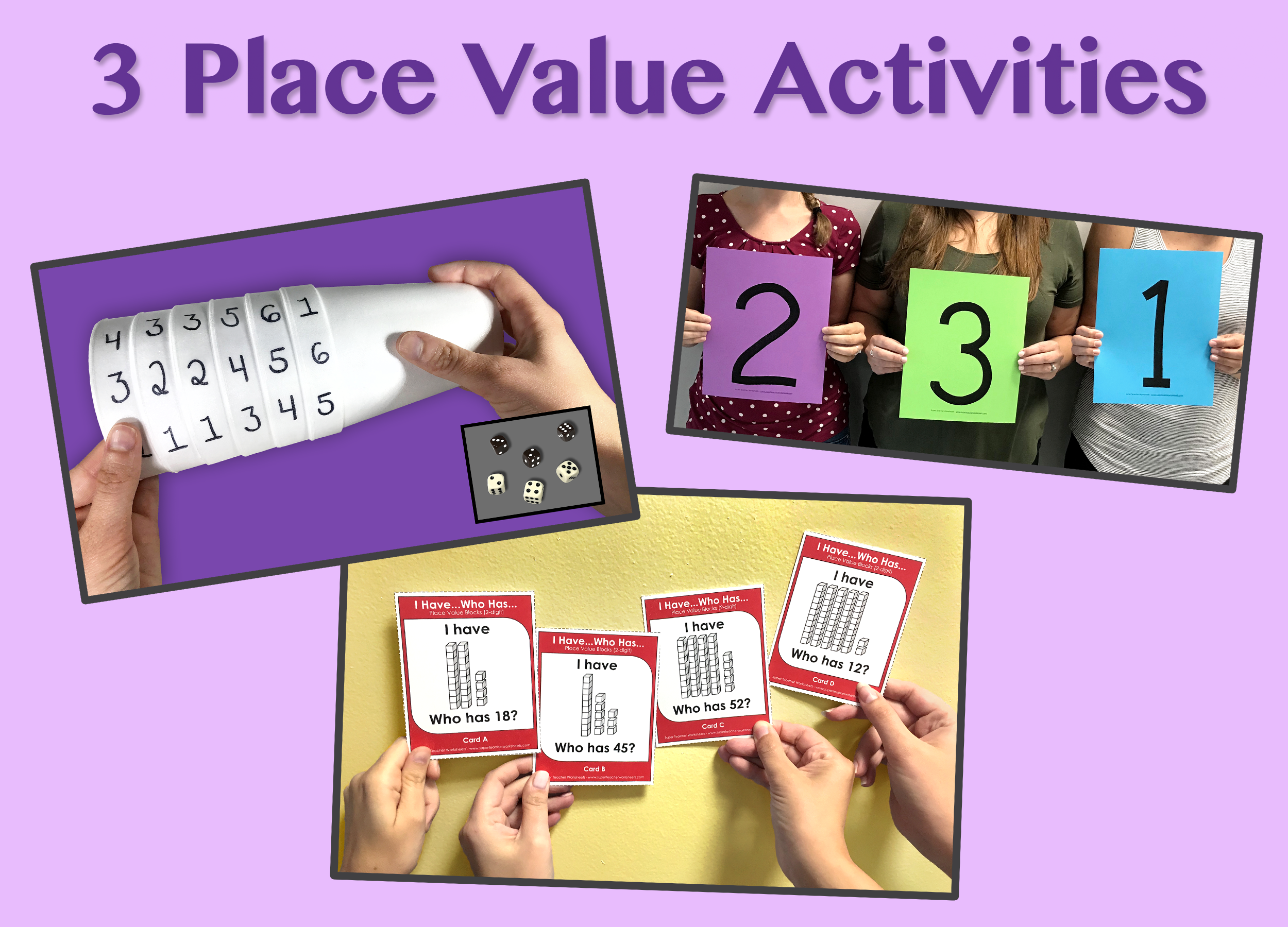 Place Value Activities!