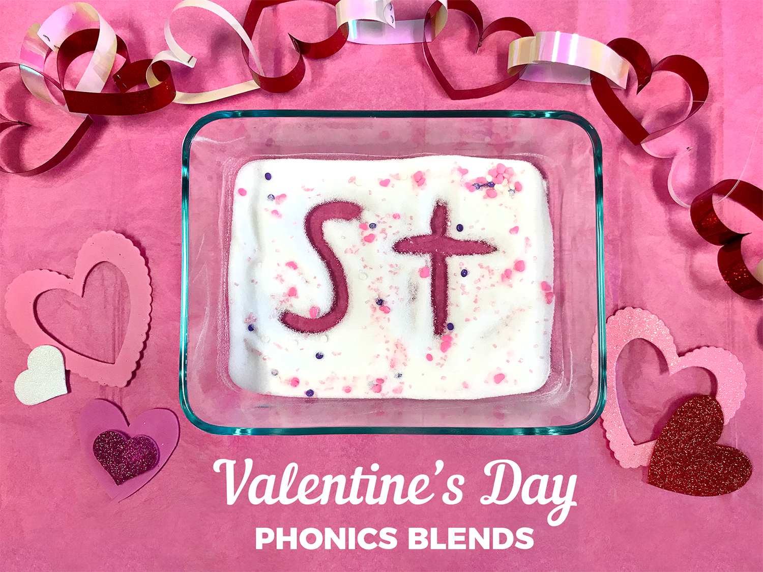 Valentine's Day Phonics Blends