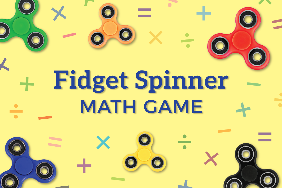 Fidget Spinner Math Activity