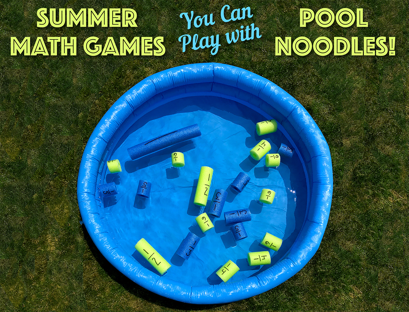 Pool Noodle Math Games