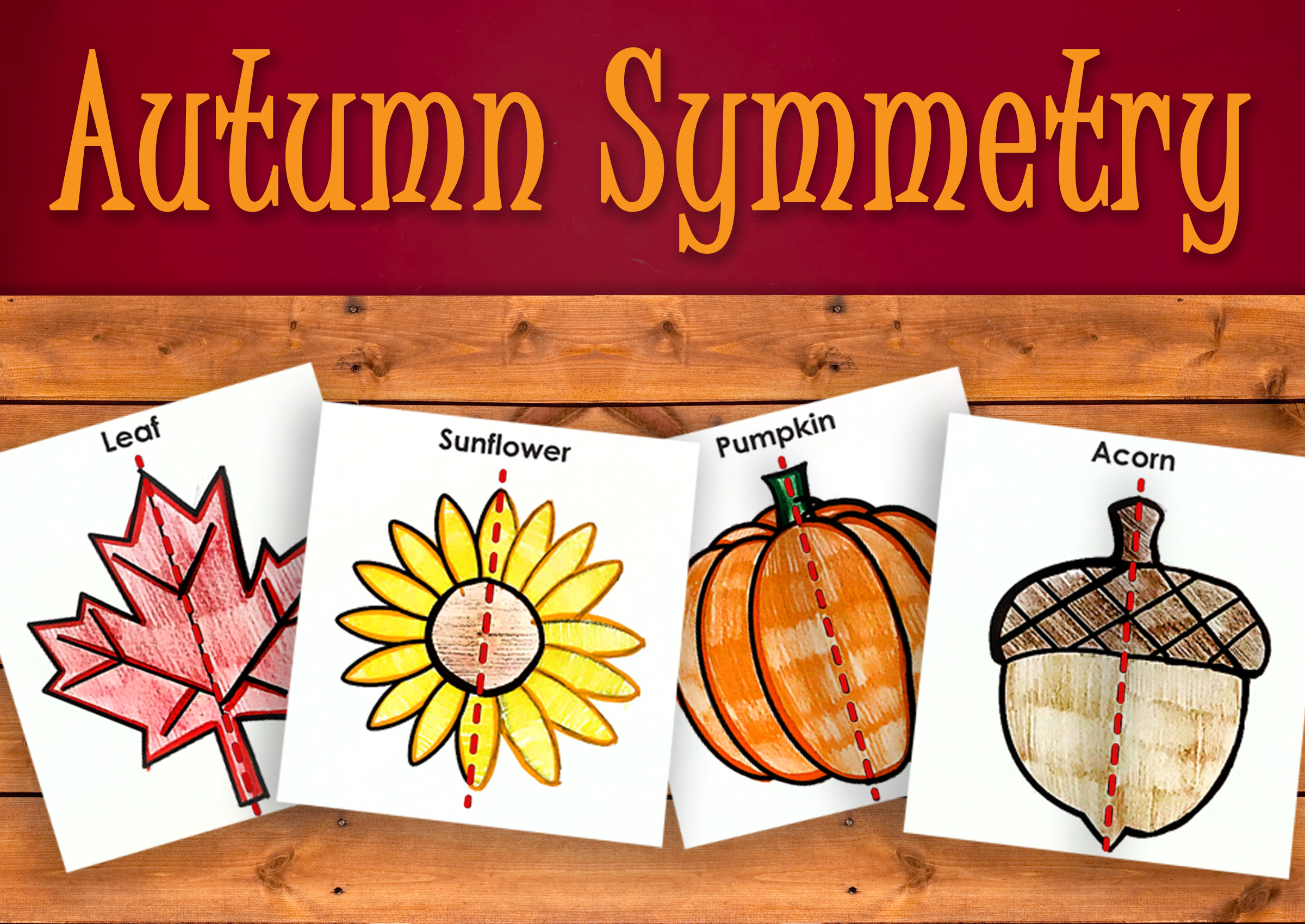 Fall Symmetry Activity